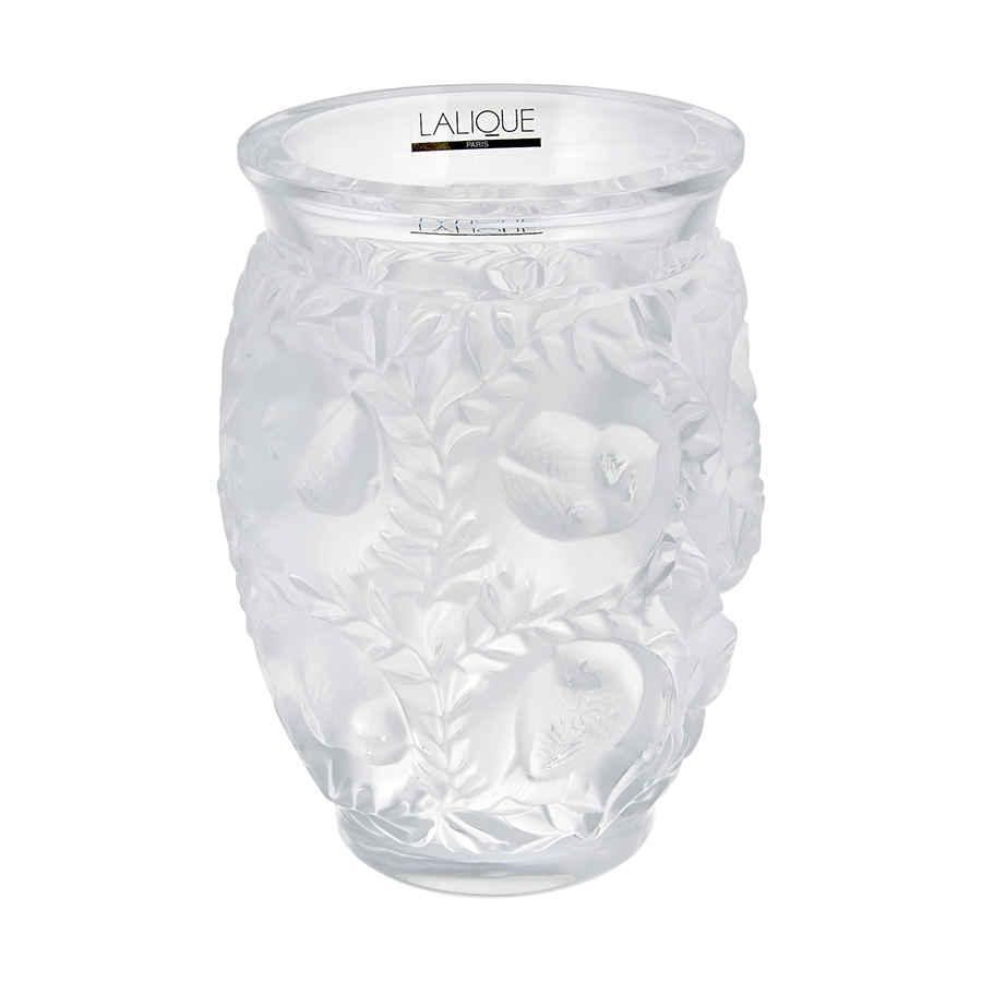 Lalique Bagatelle Crystal Vase 1221900 In Transparent
