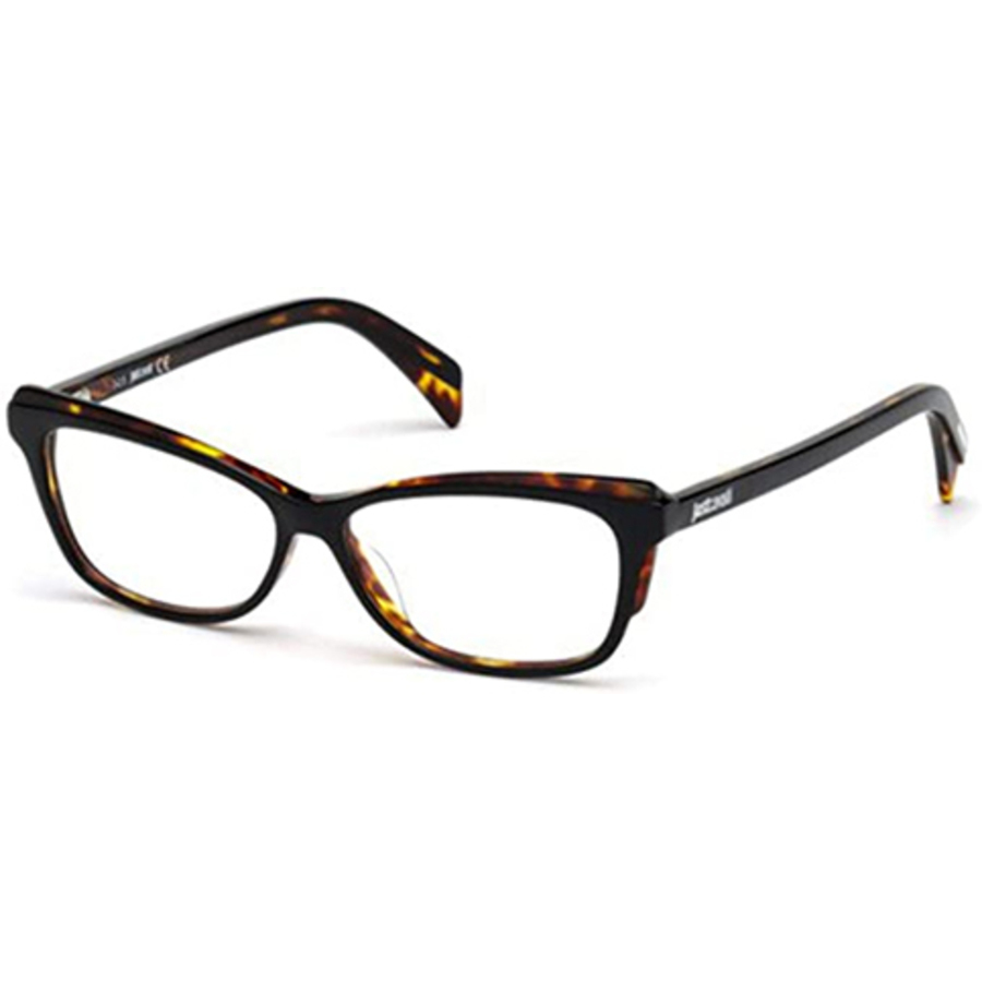 Just Cavalli Ladies Black Square Eyeglass Frames Jc0771 005 54 In Brown