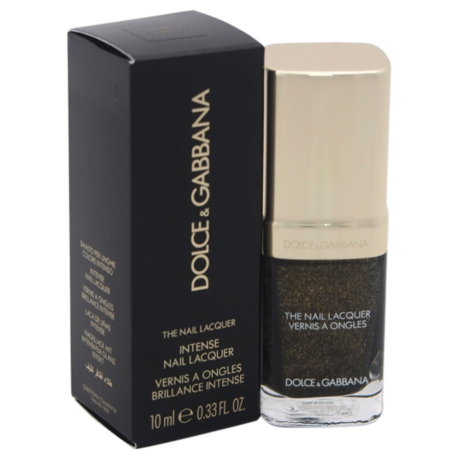 Dolce & Gabbana The Nail Lacquer - 835 Stromboli By Dolce And Gabbana For Women - 0.33 oz Nail Polish In Black