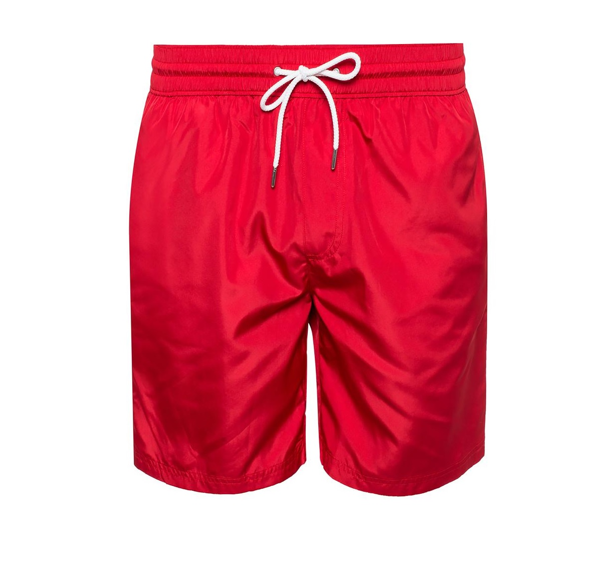 Burberry Mens Logo Printed Swimming Shorts In Blue,red,white