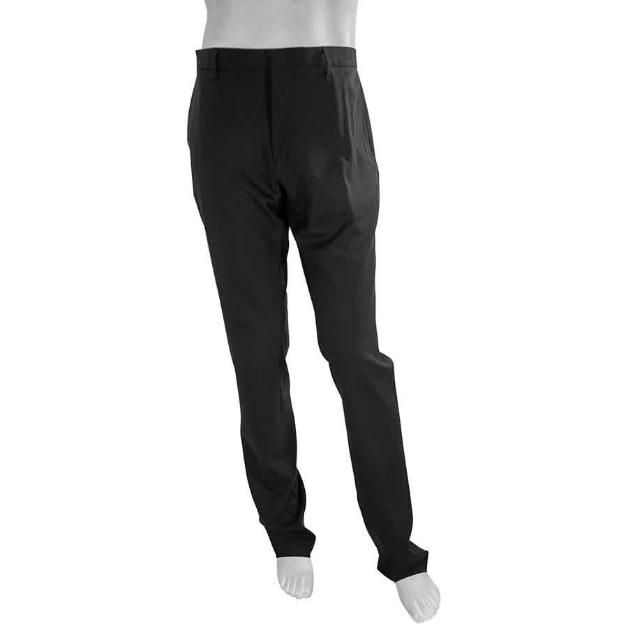 Burberry Mens Formal Black Dress Pants