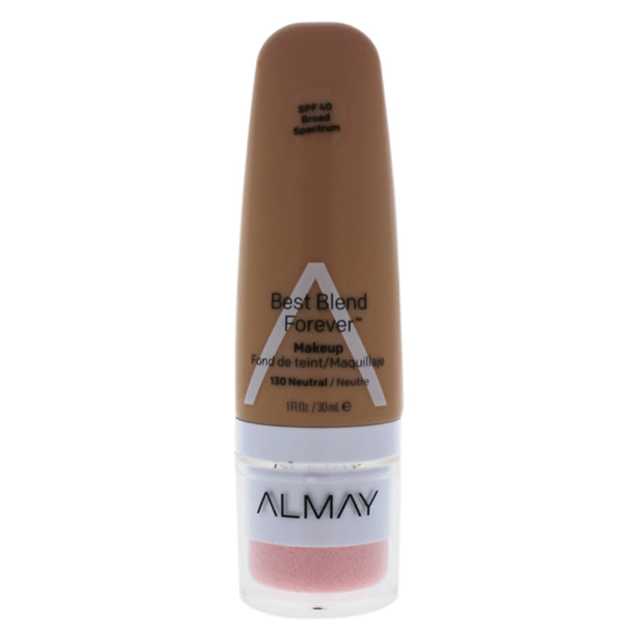 Almay Best Blend Forever Makeup Spf 40 - 130 Neutral By  For Women - 1 oz Foundation In N,a