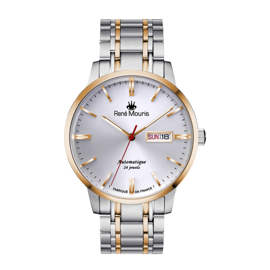 Rene Mouris Noblesse White Dial Mens Watch 10107rm3 In Metallic