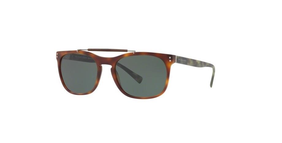 Burberry Green Square Mens Sunglasses 4050307