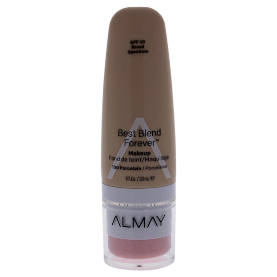 Almay Best Blend Forever Makeup Spf 40 - 100 Porcelain By  For Women - 1 oz Foundation In N,a