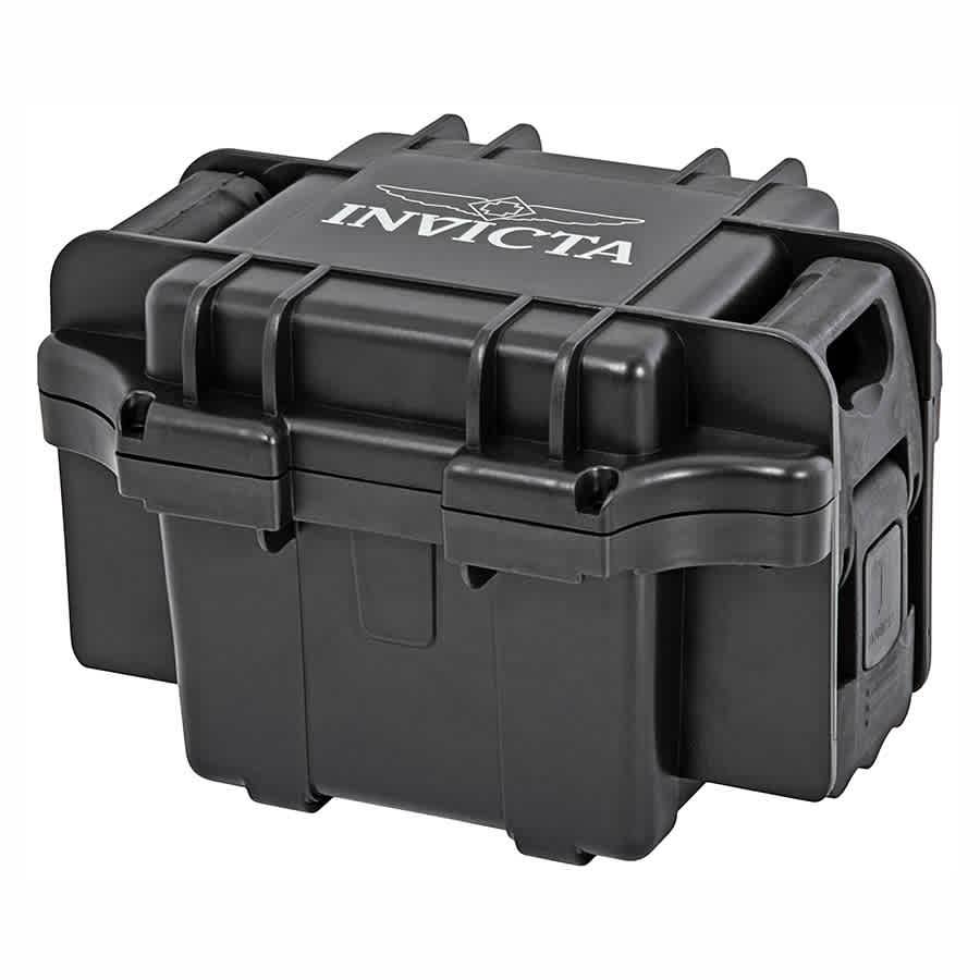 Invicta Collectors Box Watch Case Dc1blk In Black
