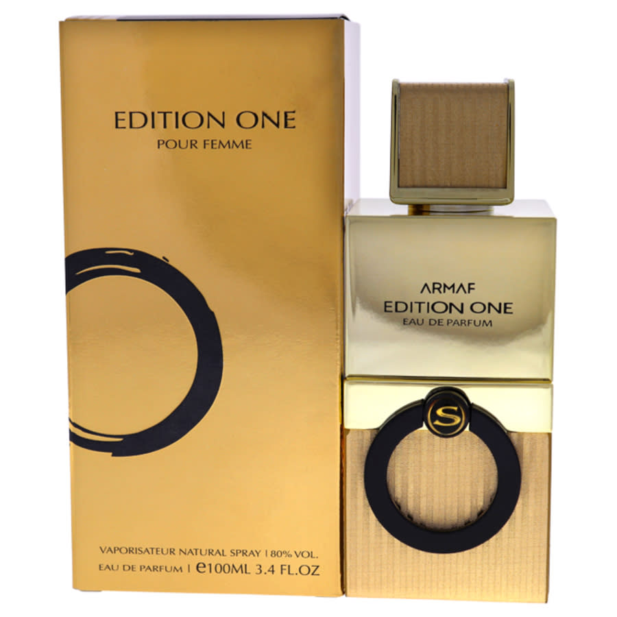 Armaf Edition One By  For Women - 3.4 oz Edp Spray In Gold
