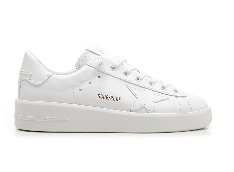 Golden Goose PURE STAIN LADIES WHITE SNEAKERS