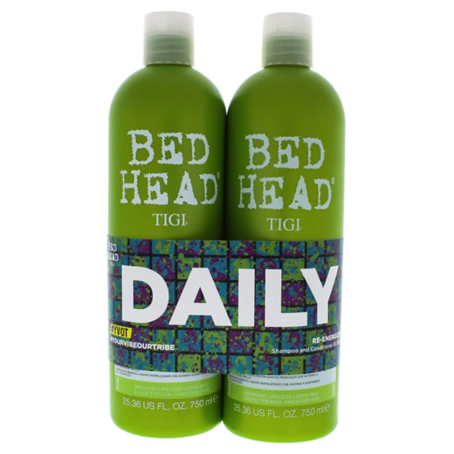 Tigi Bed Head Urban Antidotes Re-energize Kit By  For Unisex - 2 Pc Kit 25.36 oz Shampoo In N,a