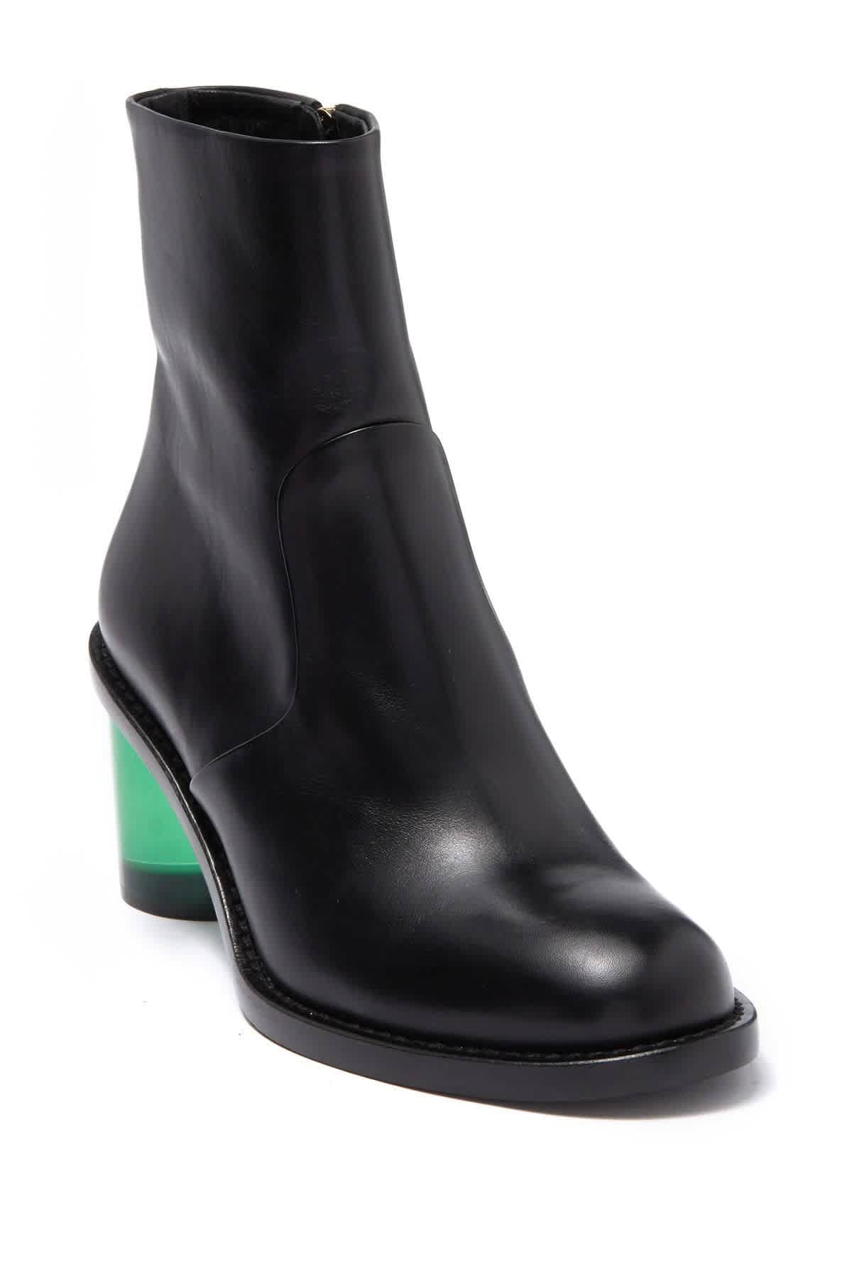 Burberry Ladies Black Westella Leather Bootie
