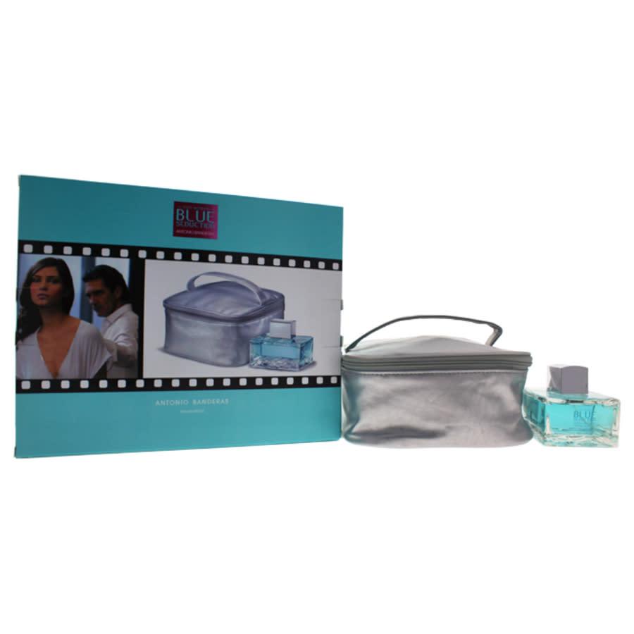 Antonio Banderas Blue Seduction By  For Women - 2 Pc Gift Set 3.4oz Edt Spray
