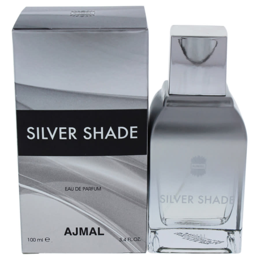 Ajmal Silver Shade By  For Unisex - 3.4 oz Edp Spray In Purple,silver Tone,white