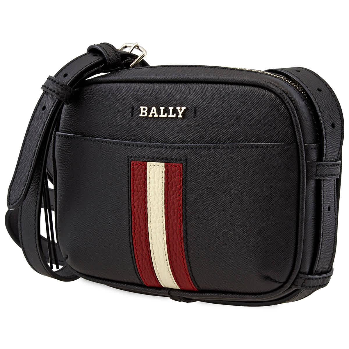 Bally Leathers BLACK SYMO MINI BAG