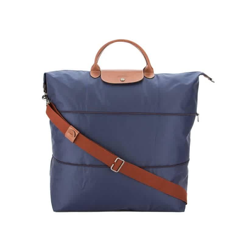 Longchamp LADIES EXPANDABLE LE PLIAGE TRAVEL BAG IN NAVY