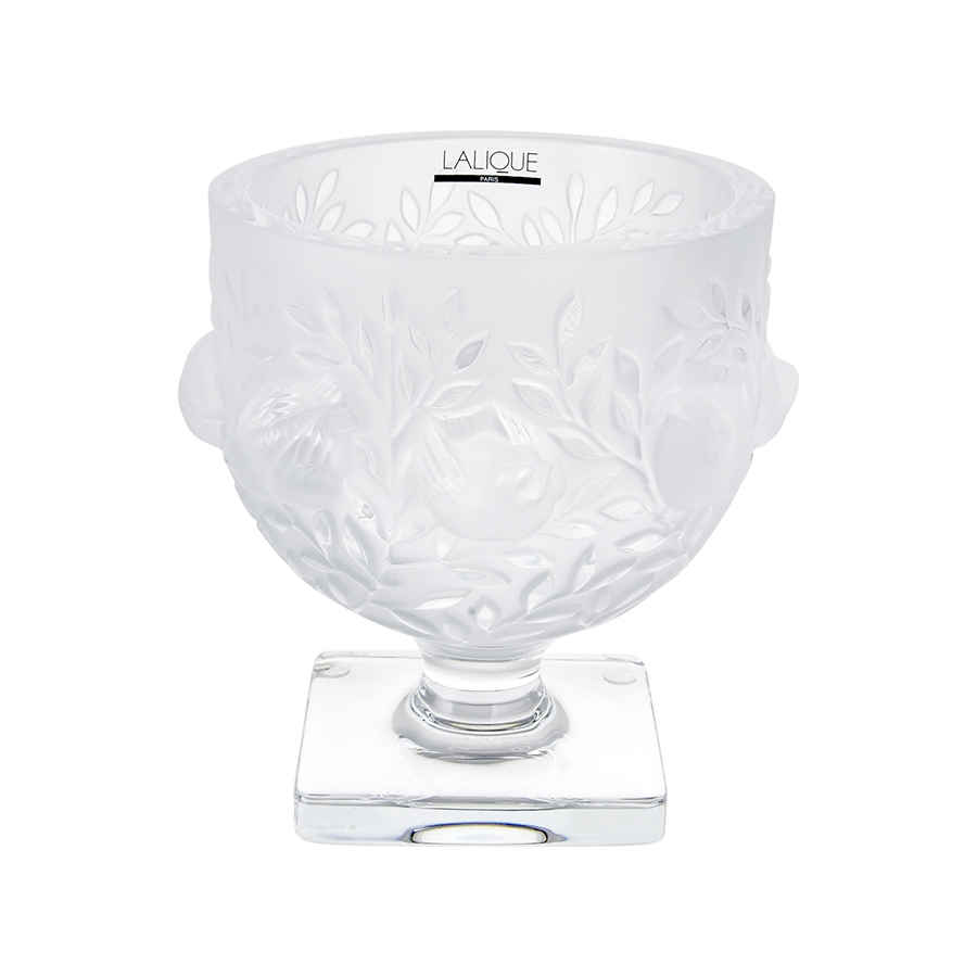 Lalique Elisabeth Vase In Transparent