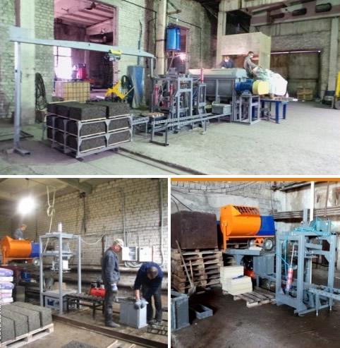 Арболит производство оборудование