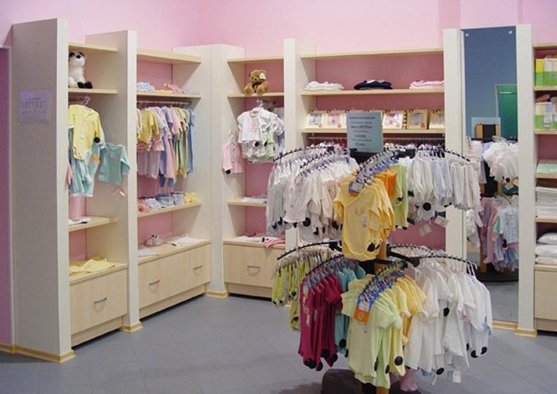 Как оборудовать магазин детской одежды