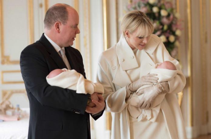 Дети альбер ii князь монако