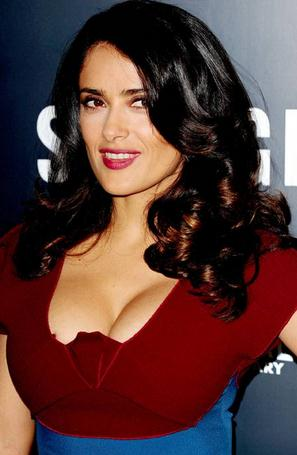 Salma hayek breast augmentation