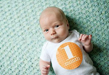 Что нужно для малыша в первый месяц жизни список