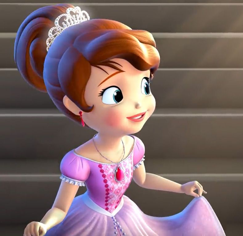 Pink sofia the first dress