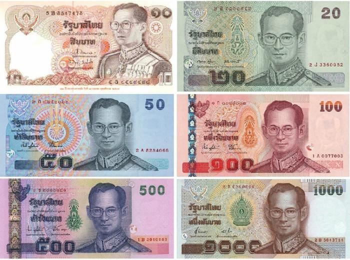 Доллар бат тайский