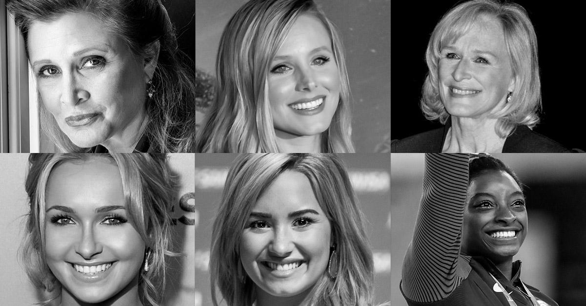 Mental illness celebrities list