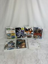Nintendo Wii 7 Game Lot, Tiger Woods Madden WWE More Tested/Working Free Ship!!