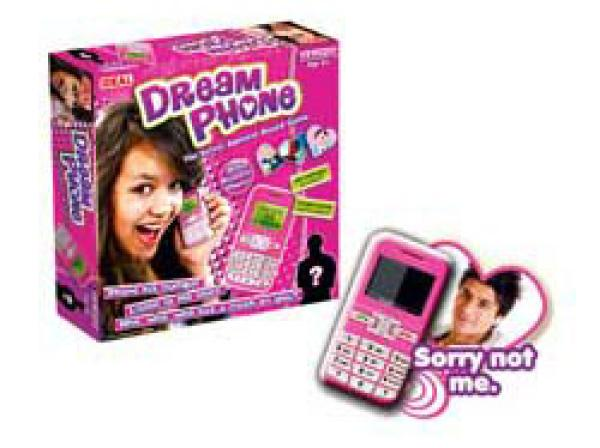 Board game with pink phone