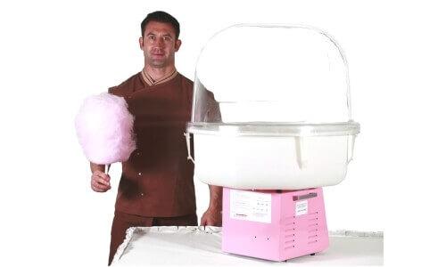 Производство сахарной ваты