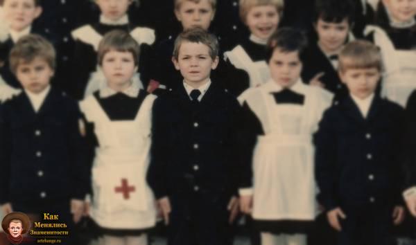 Эрик Давидыч (Китуашвили) в детстве, школьные годы