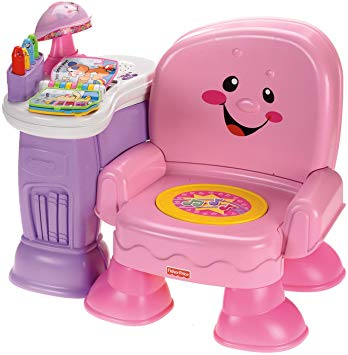 Fisher price learning chair pink