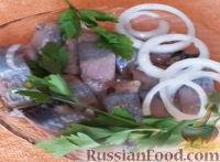 Фото к рецепту: Маринованная селедка