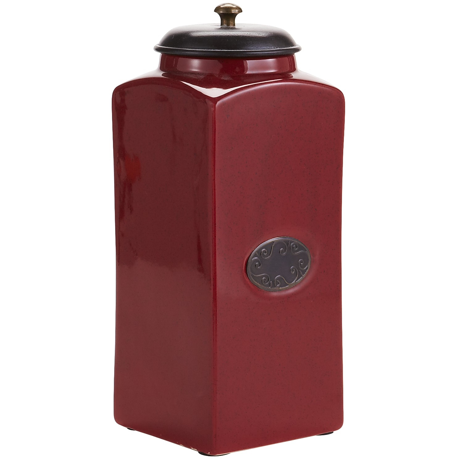 Red Chadwick Kitchen Canister