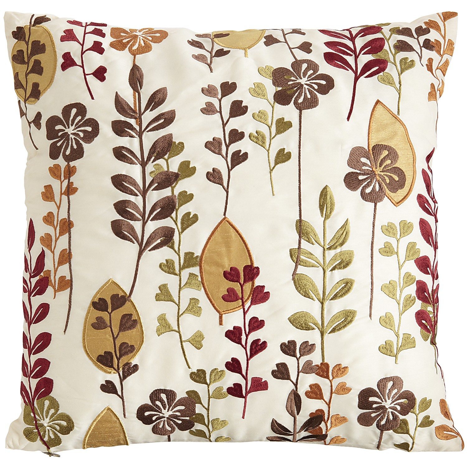 Floral Leaves Pillow