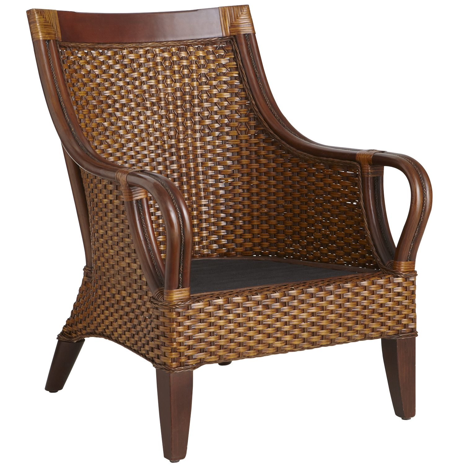 Temani Brown Wicker Chair