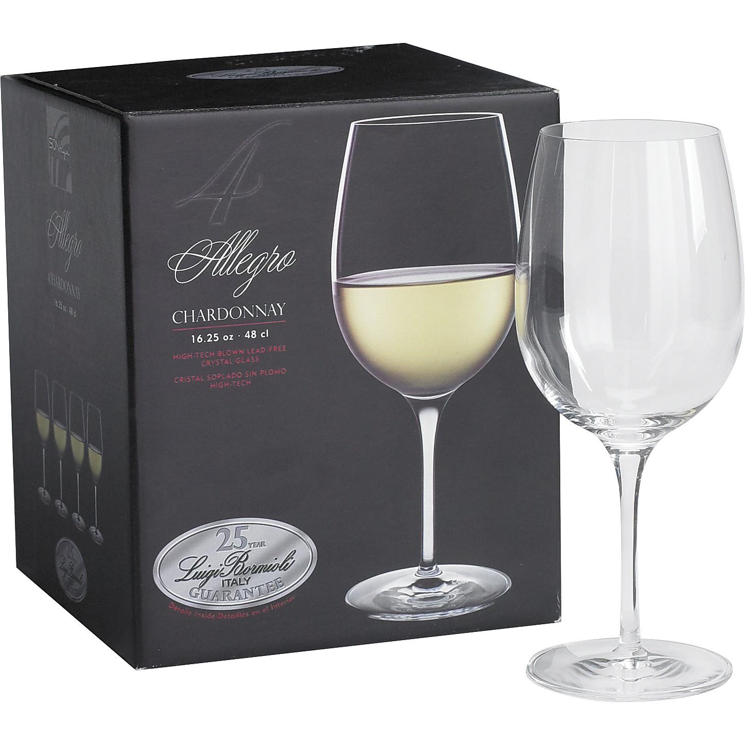Luigi Bormioli Chardonnay Glasses