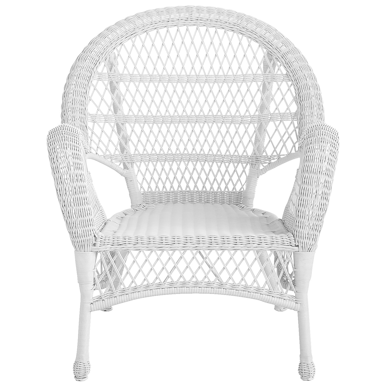 Santa Barbara White Armchair