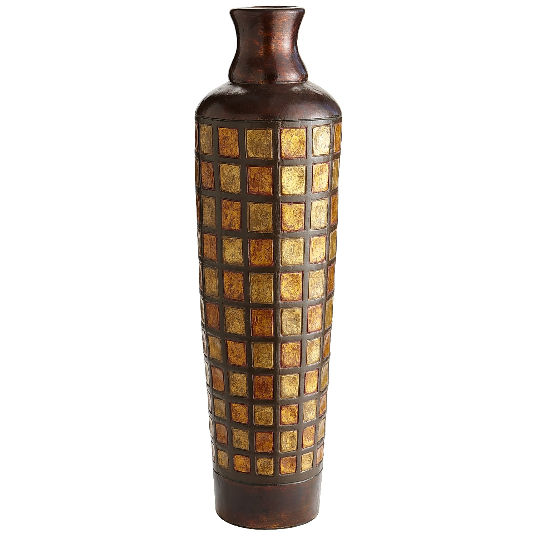Terracotta Multi-Color Vase