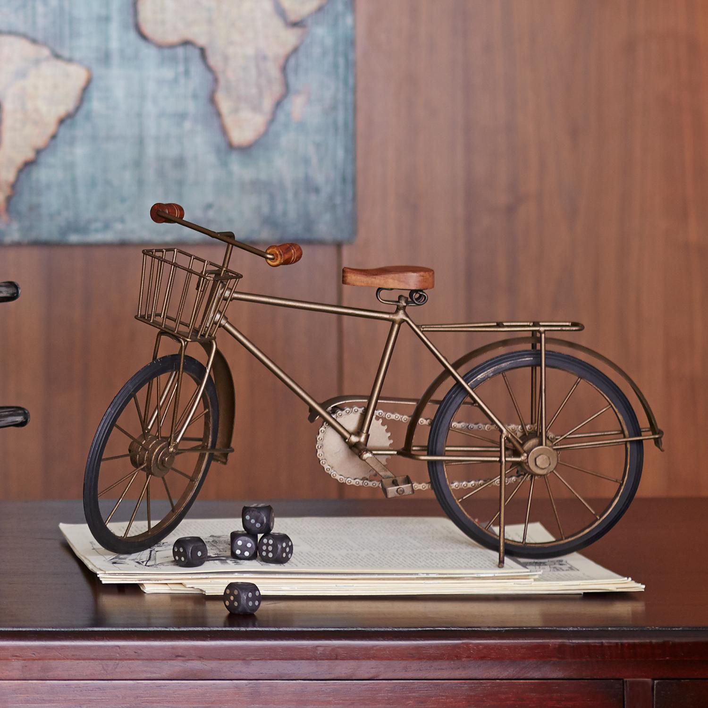 Metal Bicycle Sculpture
