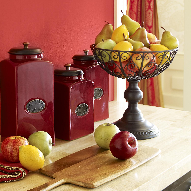 Laurel Scroll Fruit Bowl