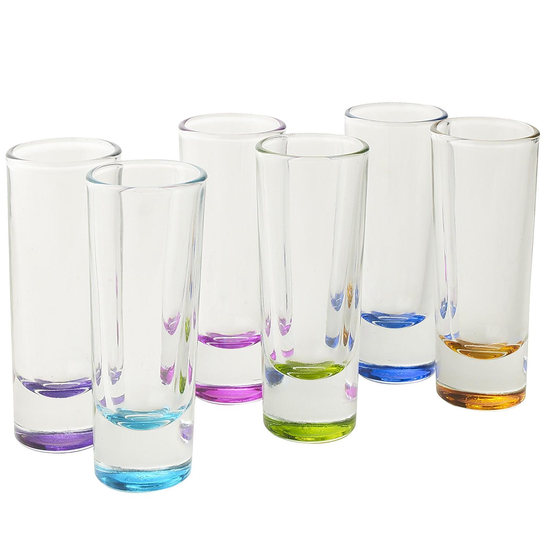 Assorted Colors Shot Glasses