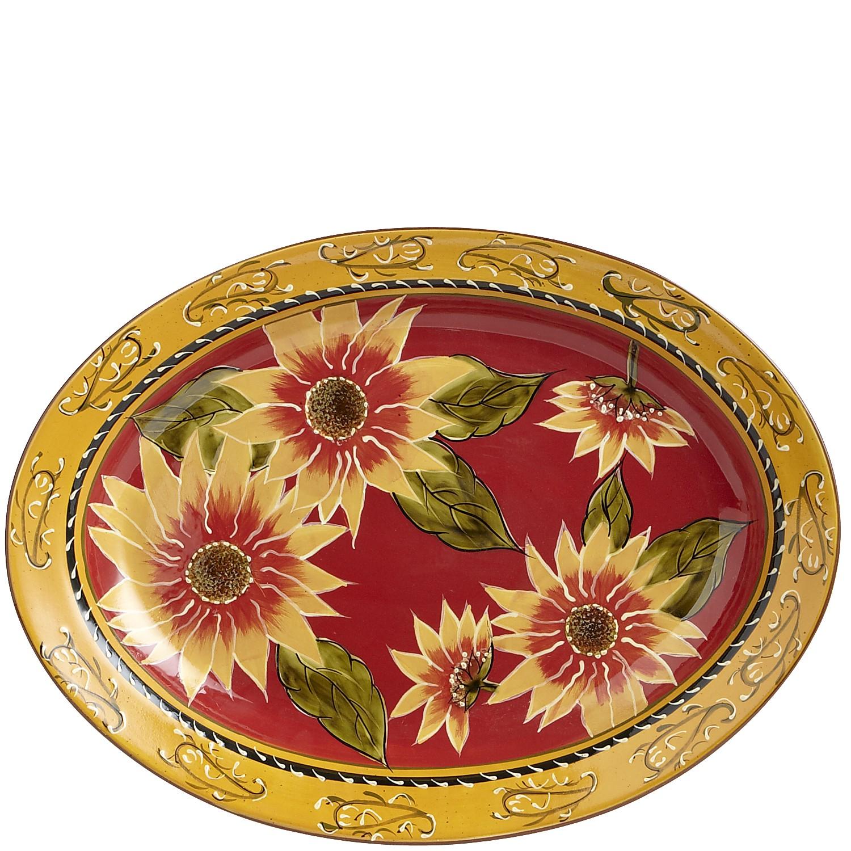 Sunflower Serving Platter