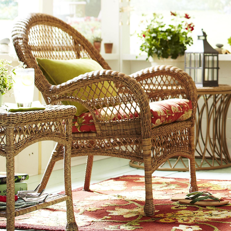Santa Barbara Light Brown Armchair