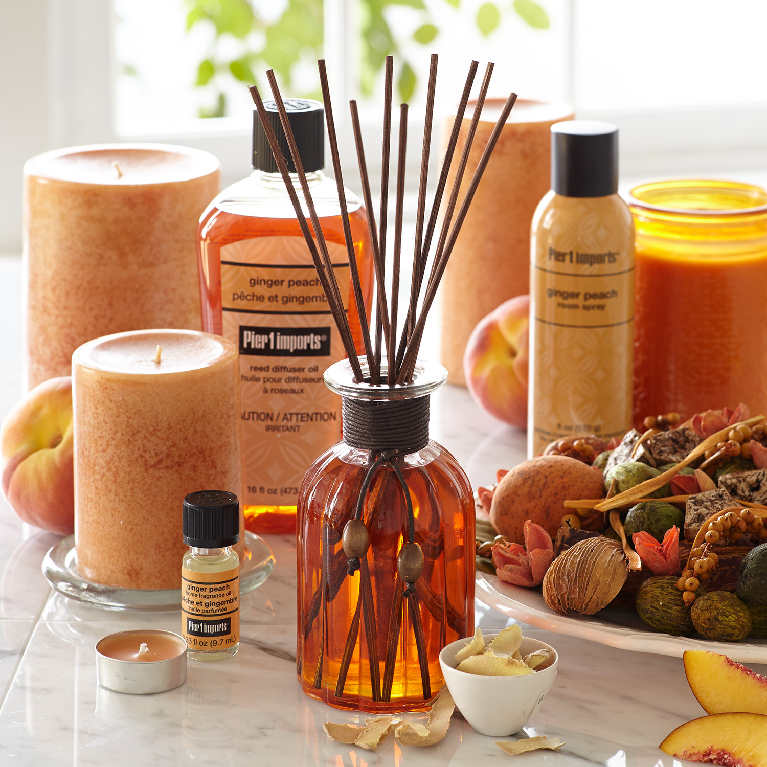 variation thumbnail of Ginger Peach® Diffuser Oil