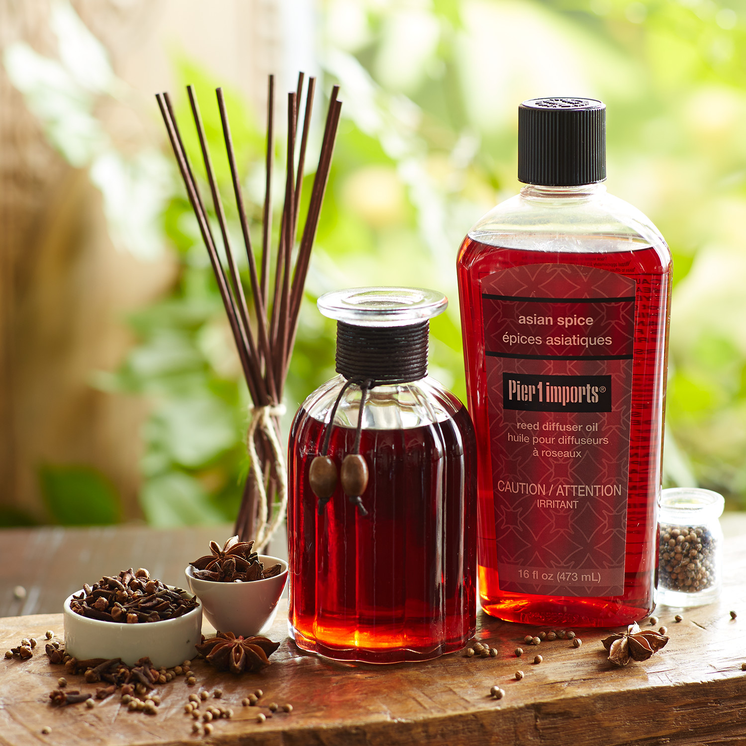 Asian Spice® Reed Diffuser Oil Refill