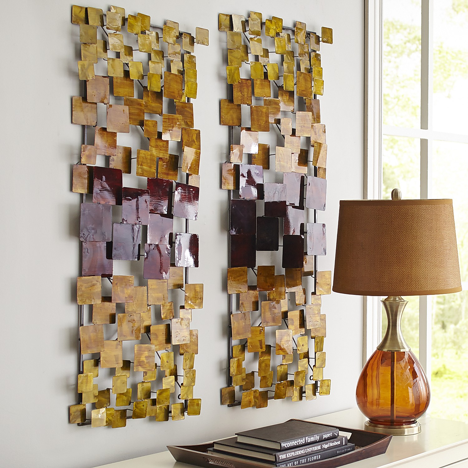 Squares Panel Wall Décor