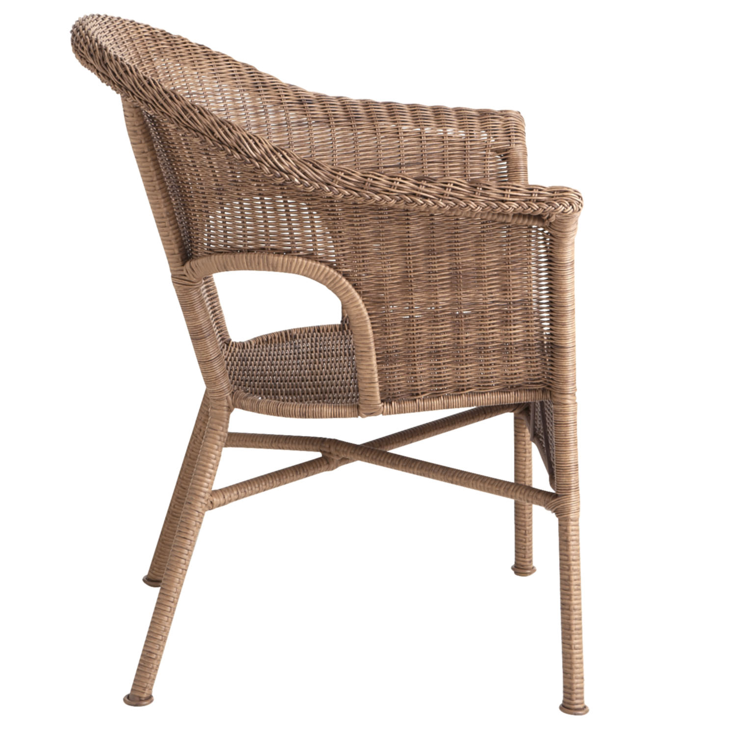 Casbah Light Brown Stacking Chair