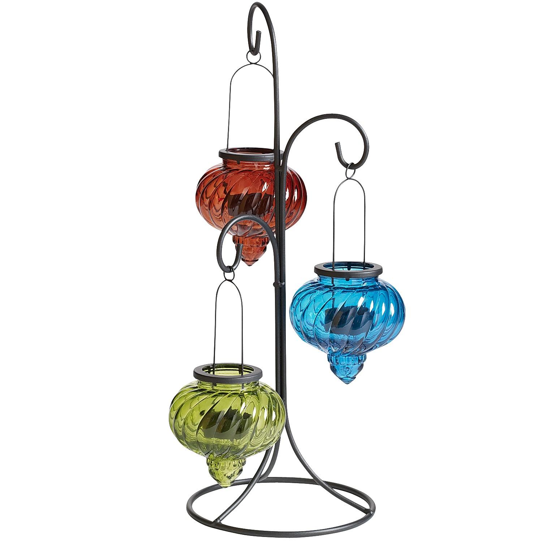 Outdoor Bombay Hanging Lantern Set