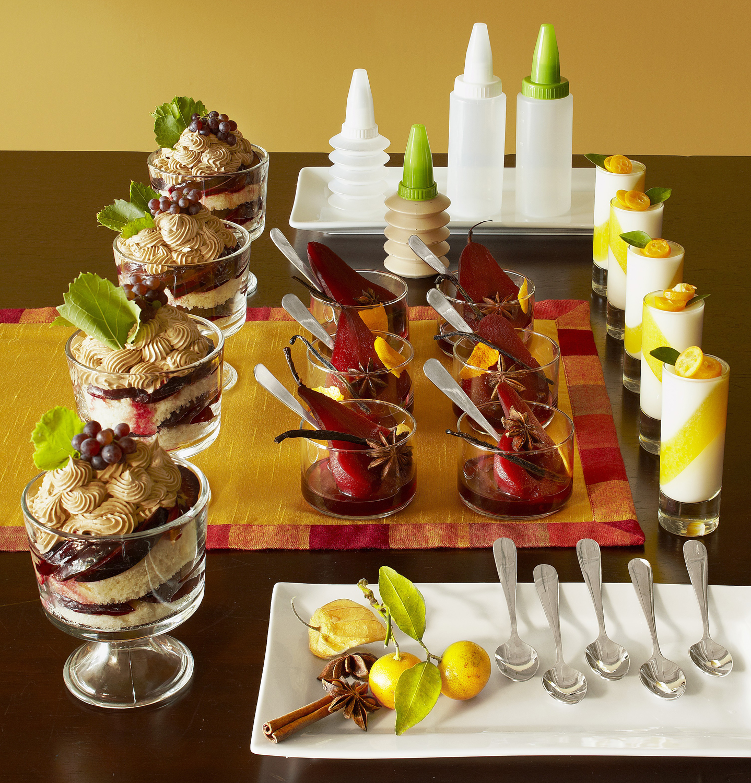 Mini Dessert Flares - 24-Piece Set